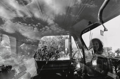 lee friedlander reflections of the street out for a walk   street